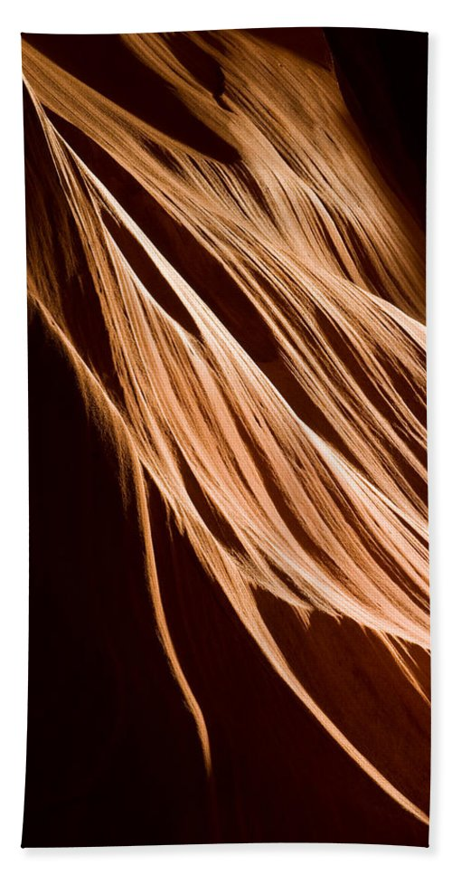 3scape Photos Hand Towel featuring the photograph Natures Lines by Adam Romanowicz