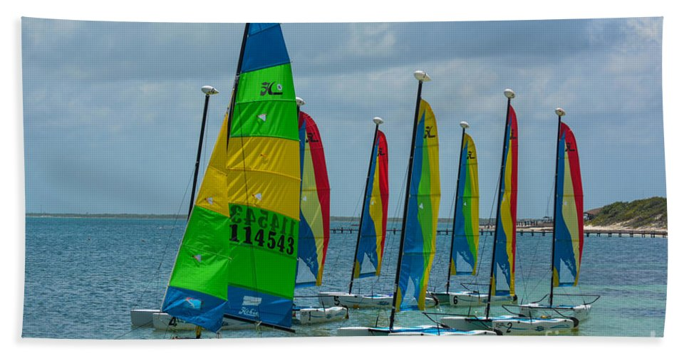 Yacht Hand Towel featuring the photograph Nautical Travel by Gary Keesler