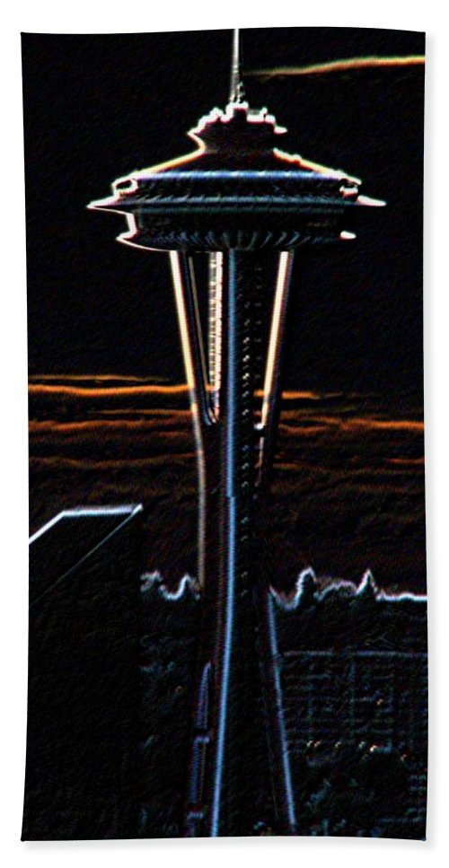 Seattle Bath Towel featuring the photograph Needles Edge by Tim Allen