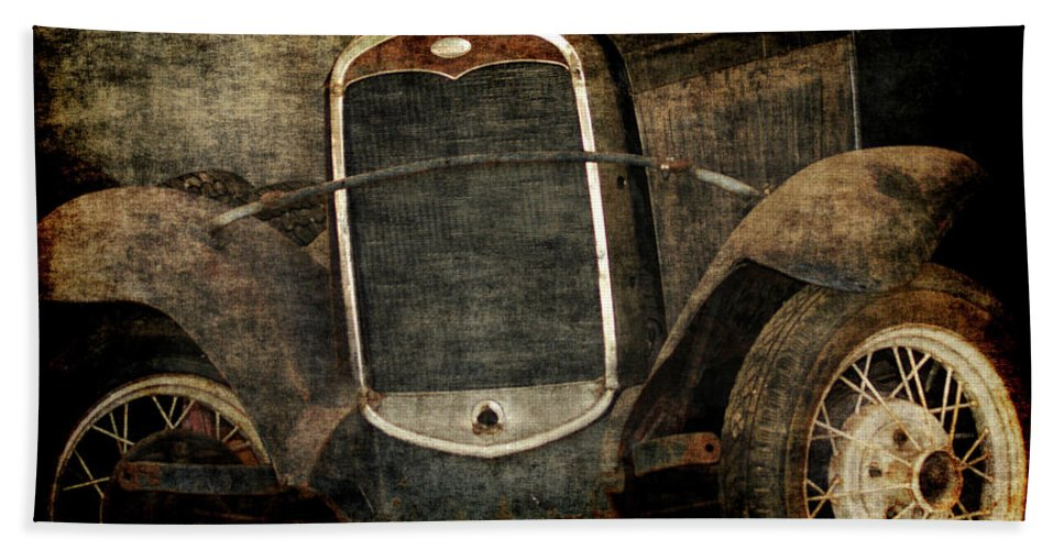 Old Fords Hand Towel featuring the photograph Needs Help by Ernie Echols