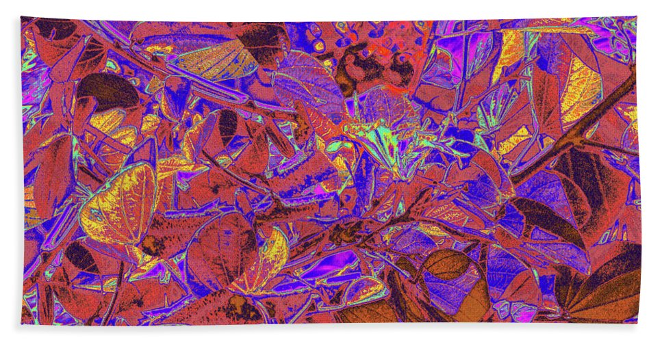Trees Bath Sheet featuring the photograph New Bloom Orchid 23 by Gary Bartoloni