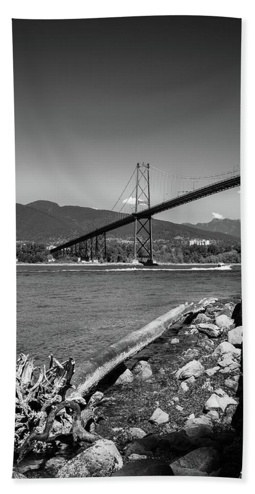 Bc Day Hand Towel featuring the photograph New Driftwood by Ross G Strachan