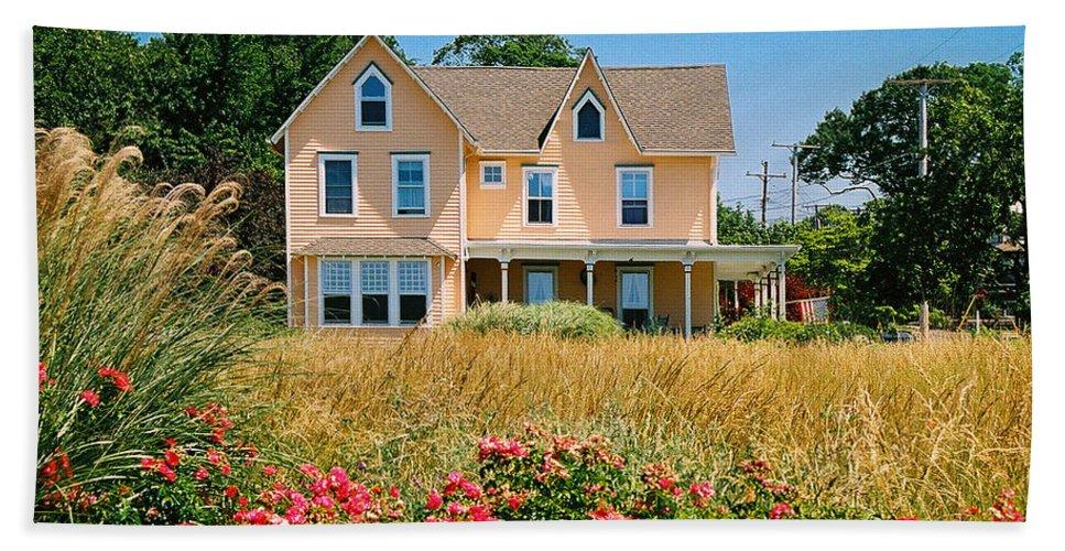 Landscape Bath Sheet featuring the photograph New Jersey Landscape by Steve Karol