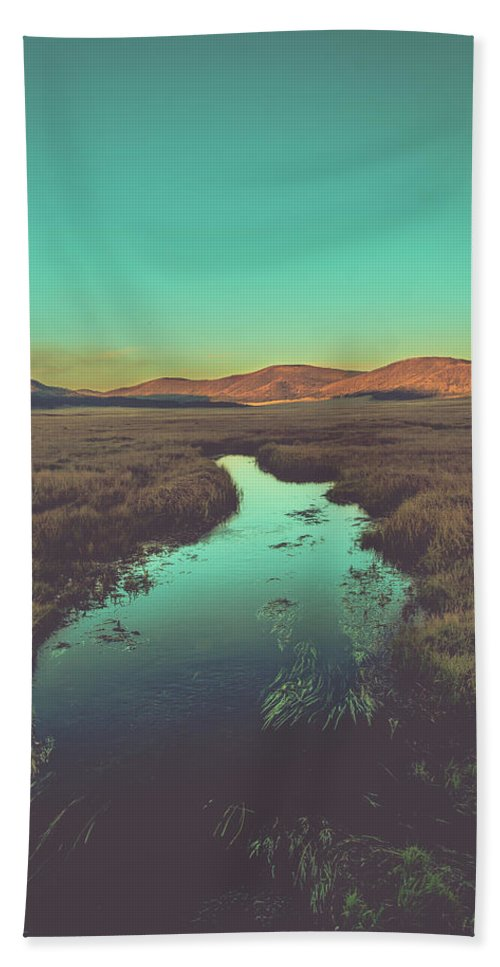 New Mexico Hand Towel featuring the photograph New Mexico Sunset by Enrique Navarro