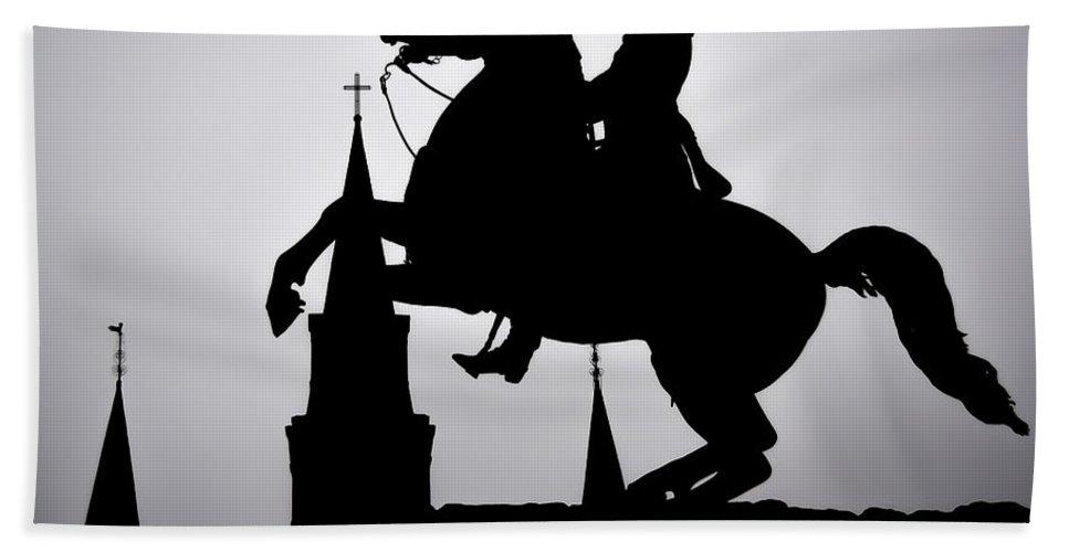 #horse #art #artstreet #artbasel #neworleans #neworleansart #artneworleans #blackandwhite #fineart #fineartamerica #julianmarulanda #photoghrapher #photography #sale #artsale #beautiful #citylandscape Cities #cities Bath Sheet featuring the photograph New Orleans Memory 1 by Julian Marulanda