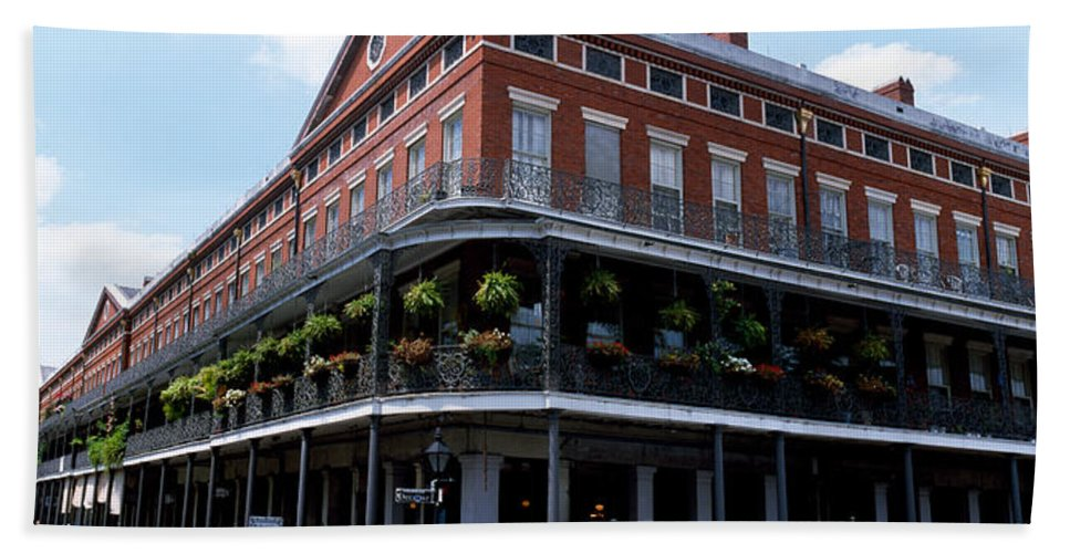 Photography Bath Sheet featuring the photograph New Orleans La by Panoramic Images