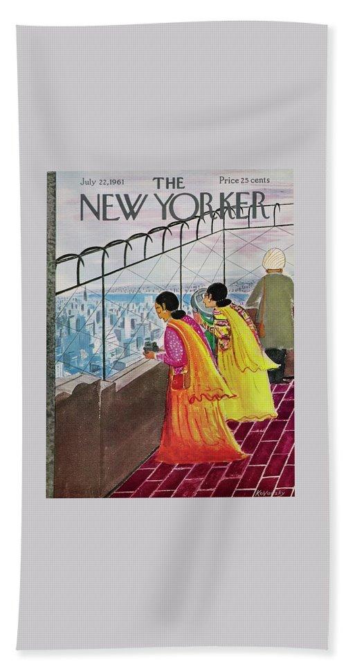 New Yorker July 22 1961 Bath Sheet