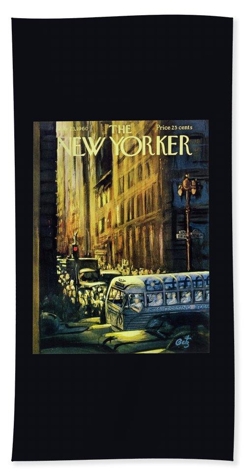 New Yorker July 23 1960 Bath Sheet