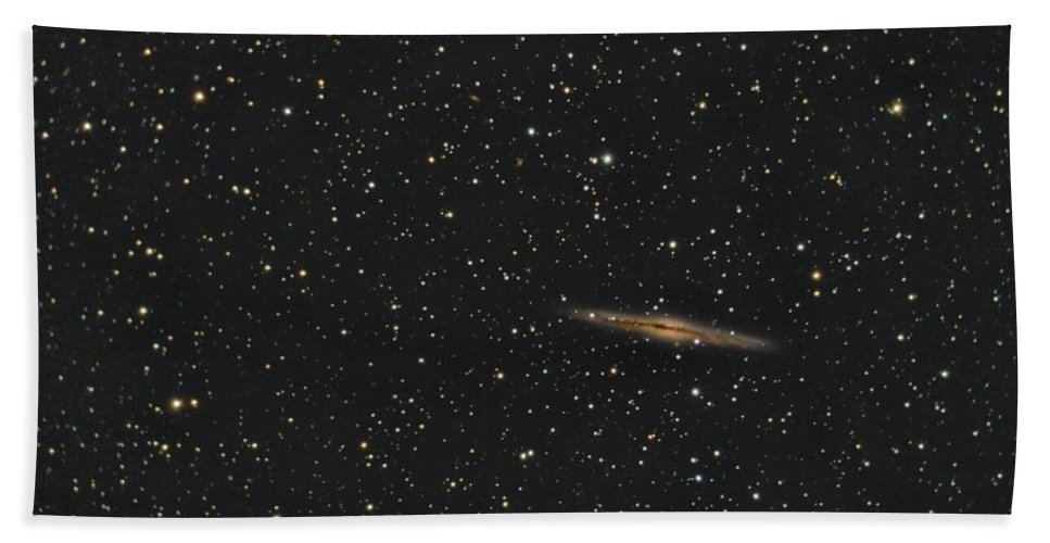 Hand Towel featuring the photograph Ngc Eight Nine One And Abell Three Four Seven by Brent Newton