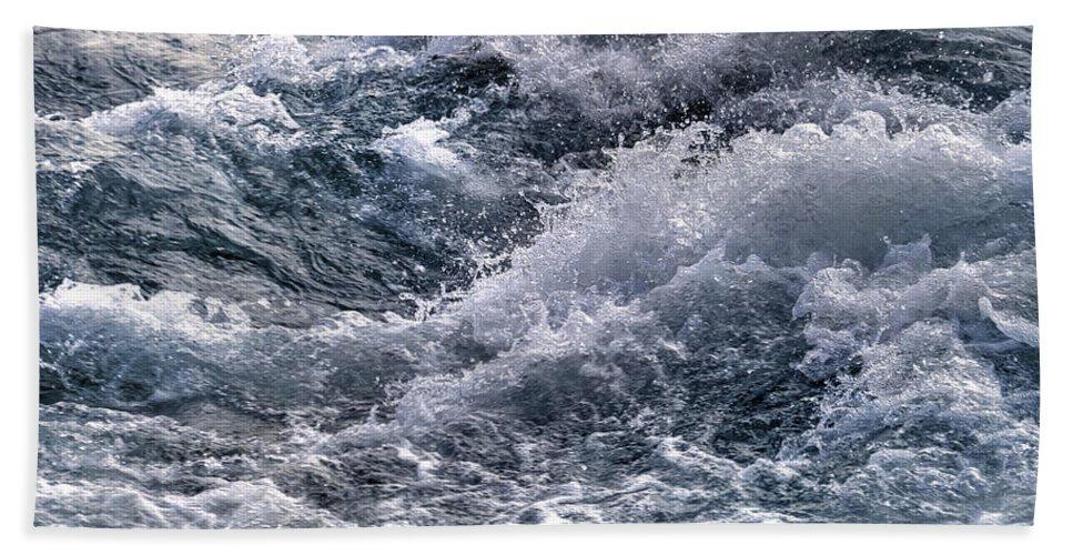 Rapids Hand Towel featuring the photograph Niagara Falls Rapids by Tammy Wetzel