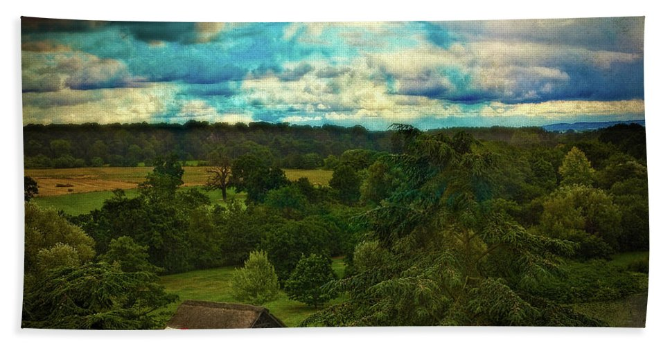 Country Bath Sheet featuring the photograph Nice Weather For Trolls In The Shire Today by Chris Lord