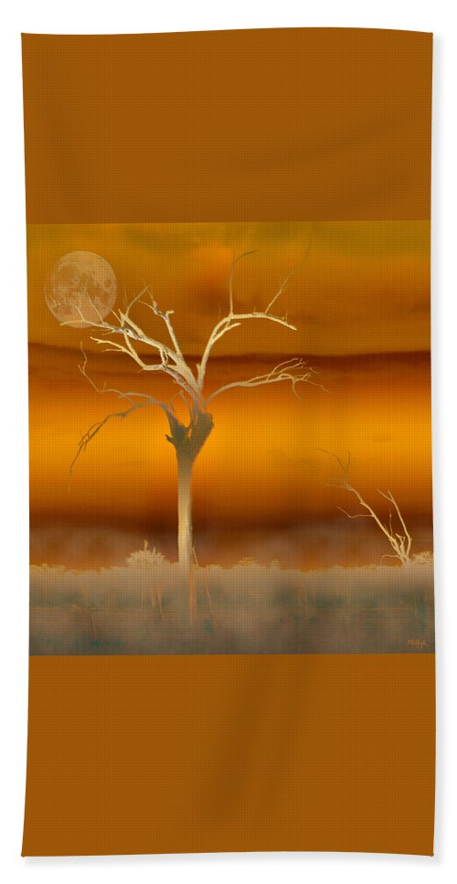 Landscapes Hand Towel featuring the photograph Night Shades by Holly Kempe