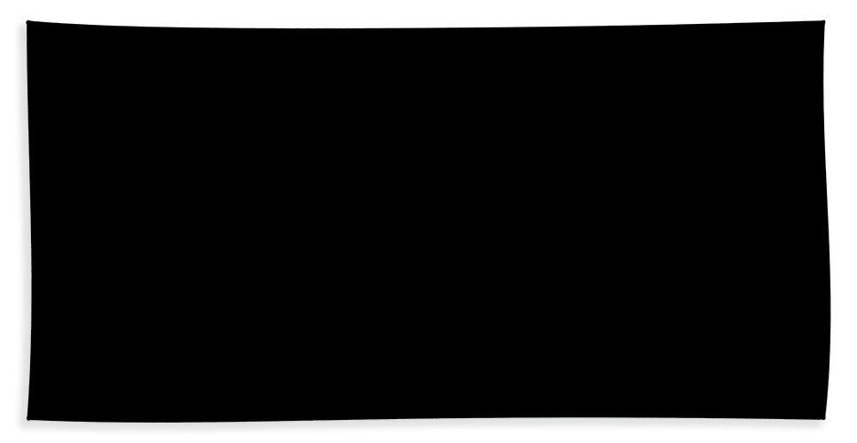 North Dakota Hand Towel featuring the photograph North Dakota Is Home Base Black by Custom Home Fashions