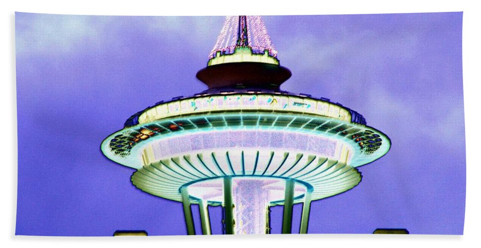 Seattle Hand Towel featuring the photograph Now Renting by Tim Allen