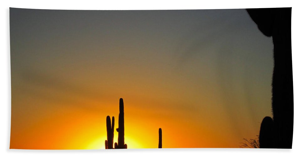 Sun Bath Sheet featuring the photograph Nuclear Sunset by Nelson Strong