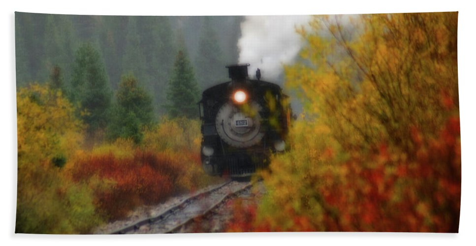 Colorado Hand Towel featuring the photograph Number 482 by Steve Stuller