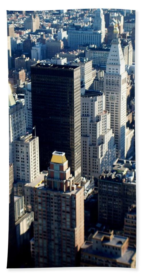 Nyc Hand Towel featuring the photograph Nyc 2 by Anita Burgermeister
