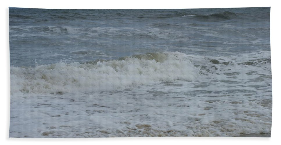 Virginia Beach Bath Sheet featuring the photograph Ocean by Heidi Poulin