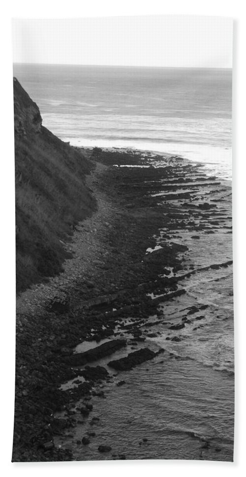 Beaches Hand Towel featuring the photograph Oceans Edge by Shari Chavira