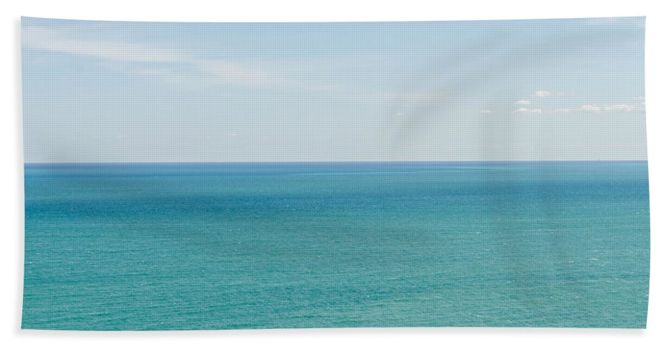 Oceans Of Time Bath Sheet featuring the photograph Oceans Of Time by Andrea Mazzocchetti