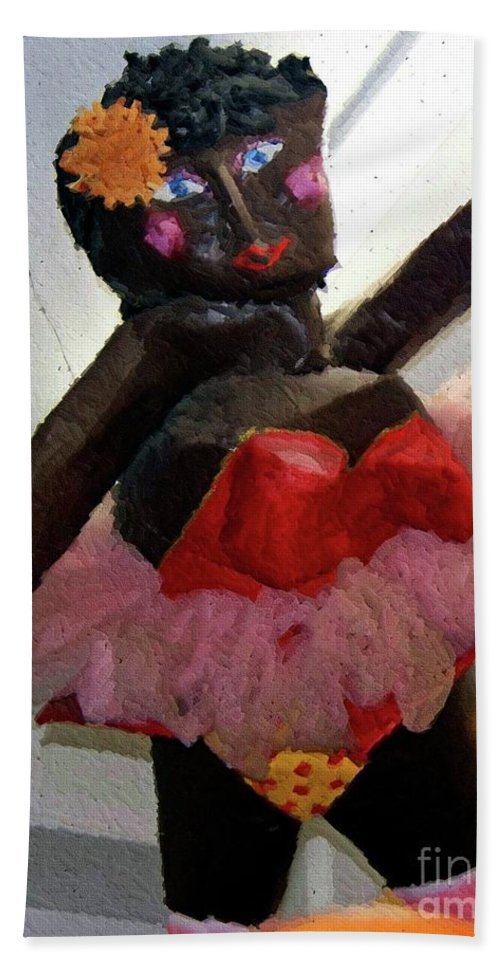Paper Mache Hand Towel featuring the photograph Oh Baby by Debbi Granruth