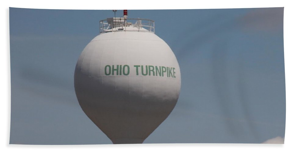 Water Hand Towel featuring the photograph Ohio Turnpike 1 by Nina Kindred