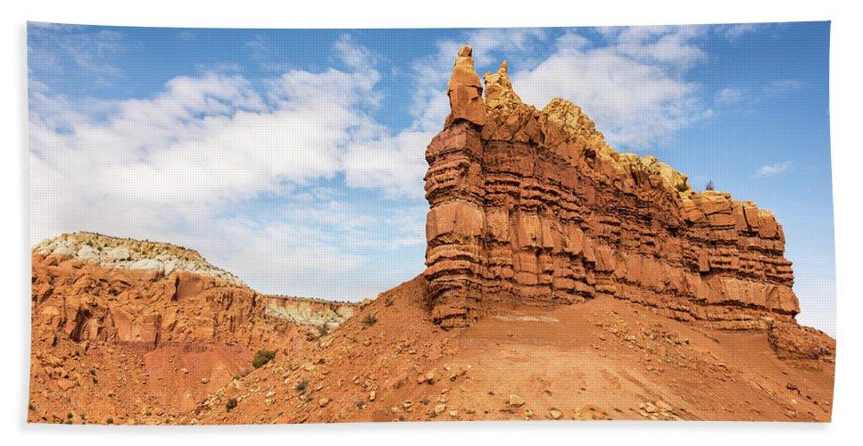 Ojitos De Los Gatos Northern New Mexico Nm Hand Towel featuring the photograph Ojitos De Los Gatos - New Mexico by Brian Harig