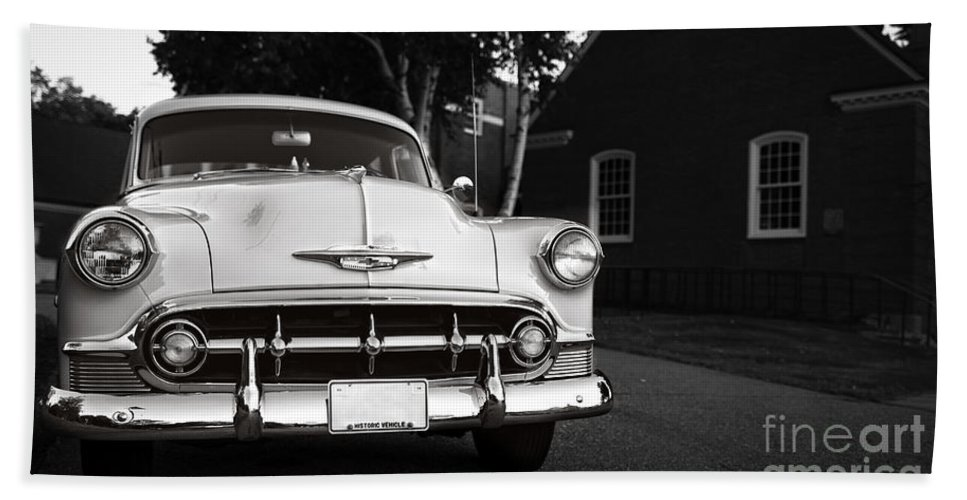 Connecticut Bath Sheet featuring the photograph Old Chevy Connecticut by Edward Fielding