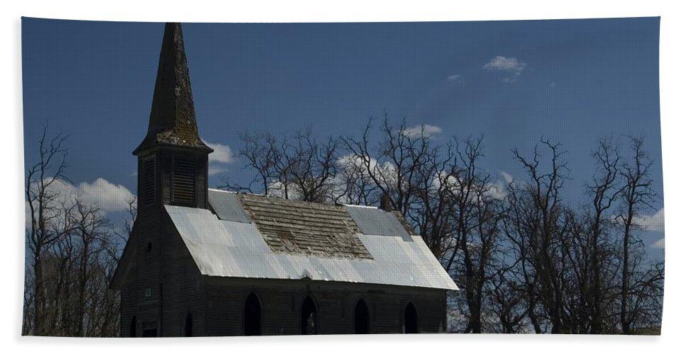 Church Hand Towel featuring the photograph Old Church by Sara Stevenson