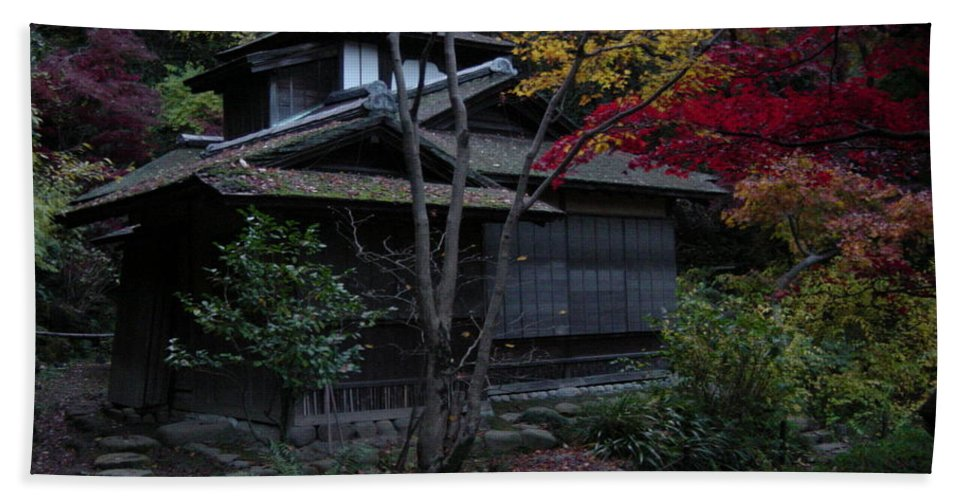 Fall Bath Sheet featuring the photograph Old Japan by D Turner