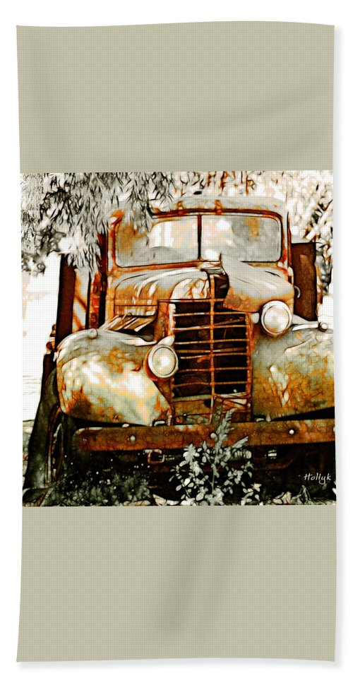 Transportation Bath Sheet featuring the photograph Old Memories Never Die by Holly Kempe