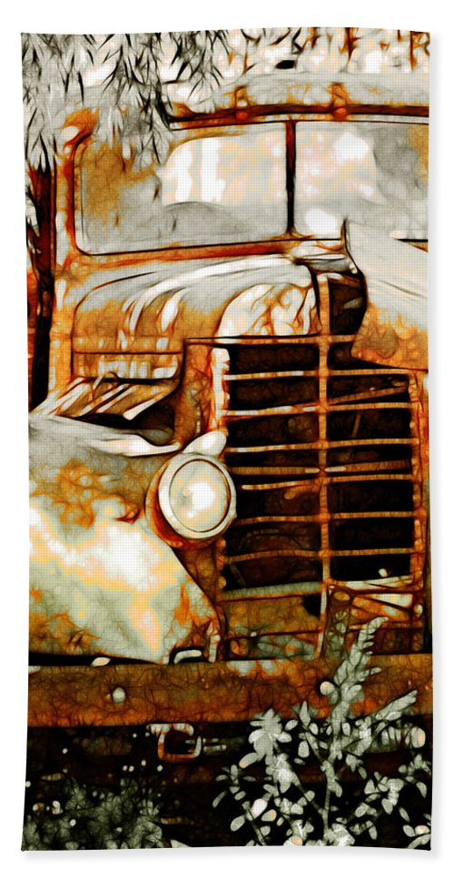 Transportation Hand Towel featuring the photograph Old Memories Never Die by Holly Kempe