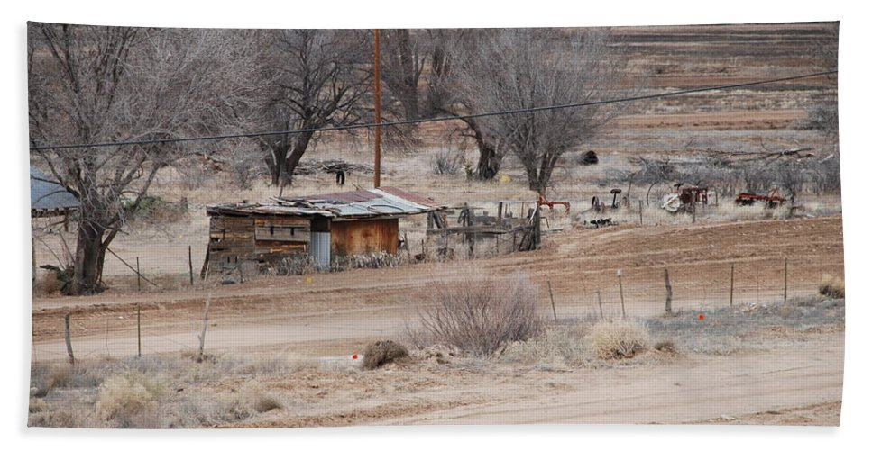House Bath Sheet featuring the photograph Old Ranch House by Rob Hans