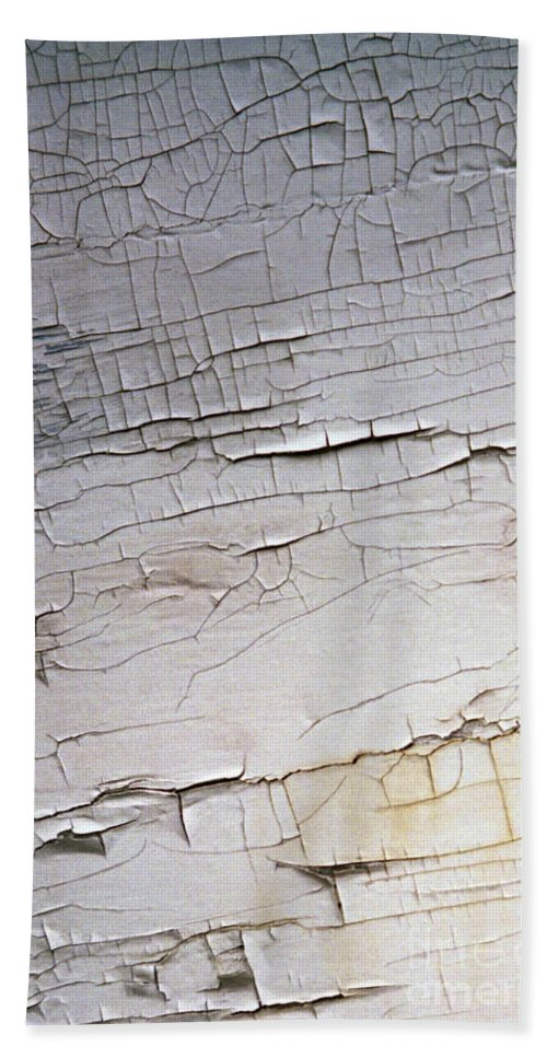 Paint Bath Sheet featuring the photograph Old Siding by Richard Rizzo