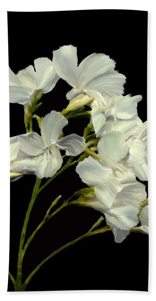 Flowers Bath Towel featuring the photograph Oleander by Kurt Van Wagner