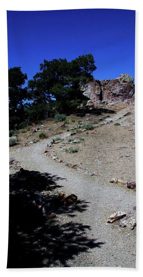 Usa Bath Sheet featuring the photograph On The Road To Virginia City Nevada 16 by LeeAnn McLaneGoetz McLaneGoetzStudioLLCcom