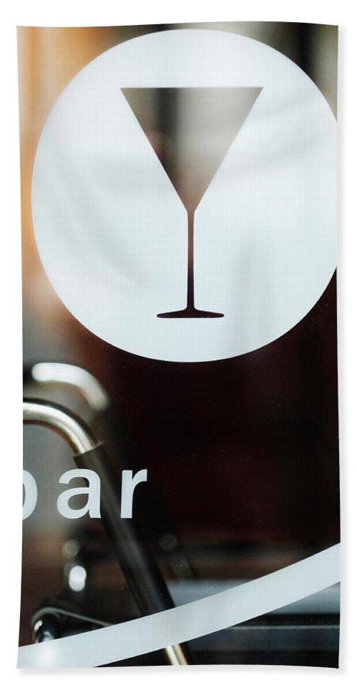 Bar Hand Towel featuring the photograph Open Bar by Jill Reger