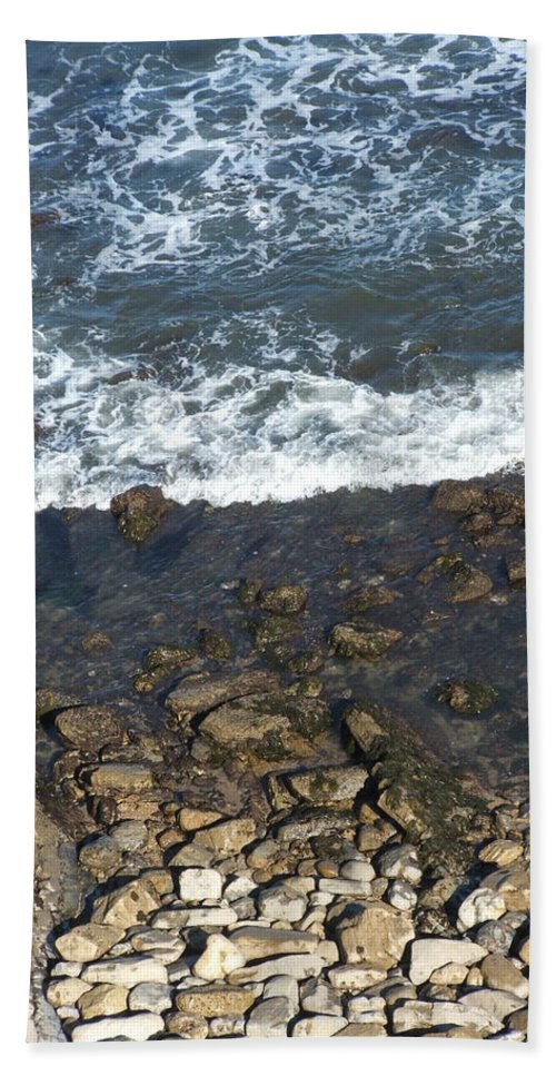 Ocean Bath Towel featuring the photograph Opponents by Shari Chavira