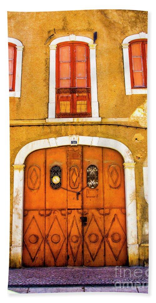 Faro Bath Sheet featuring the photograph Orange And Yellow by Roberta Bragan