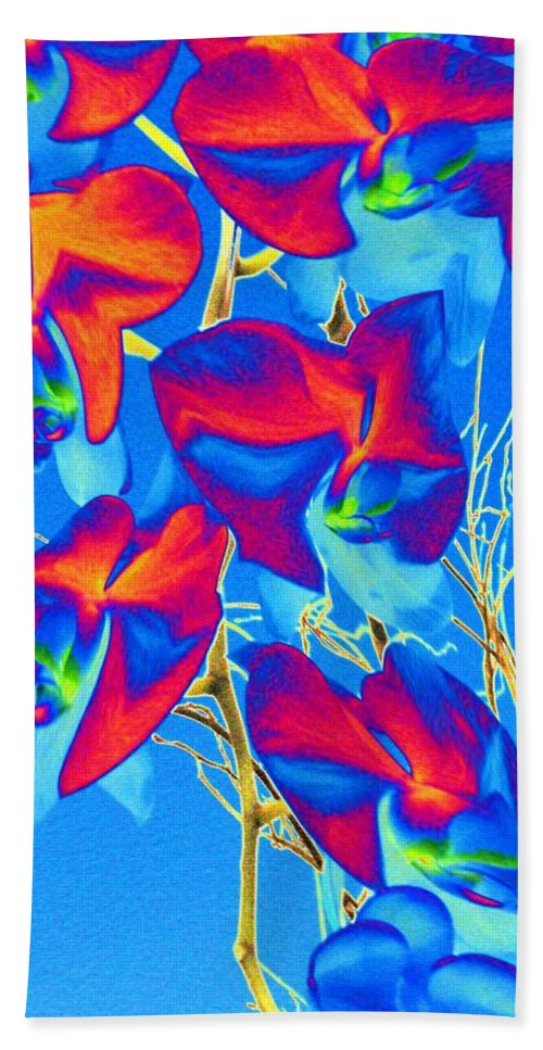 Orchid Bath Towel featuring the photograph Orchid 1 by Tim Allen