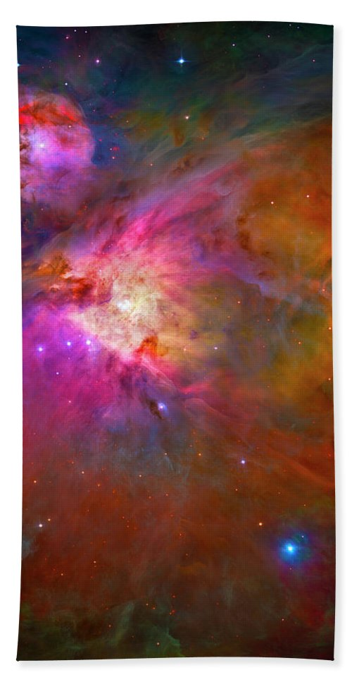 Orion Nebula Bath Towel featuring the photograph Orion Nebula by Paul W Faust - Impressions of Light