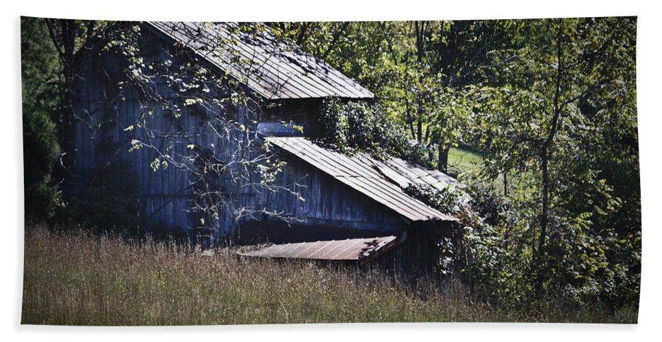 Virginia Bath Sheet featuring the photograph Overgrown by Teresa Mucha
