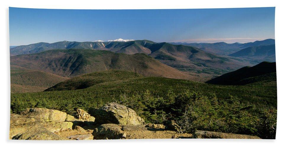 Adventure Bath Sheet featuring the photograph Owls Head - Pemigewasset Wilderness New Hampshire by Erin Paul Donovan