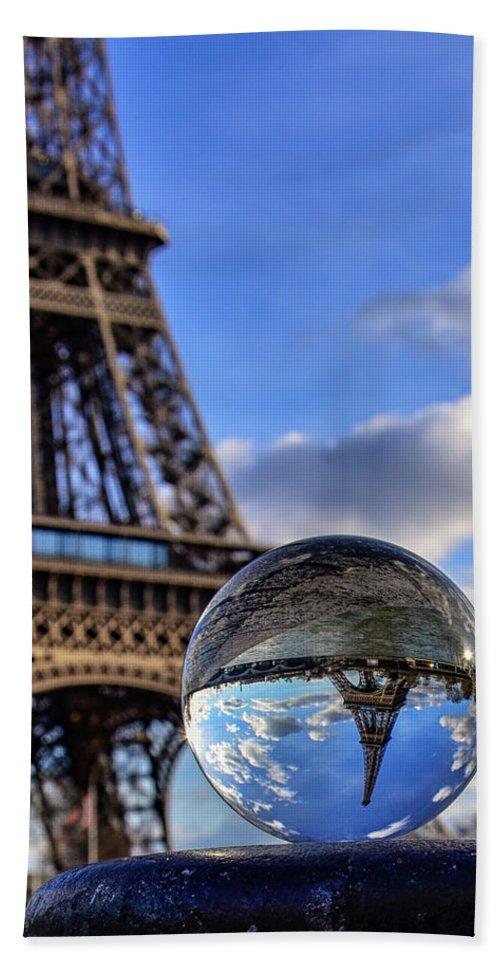 Paris Bath Sheet featuring the photograph Paris by Jane Svensson
