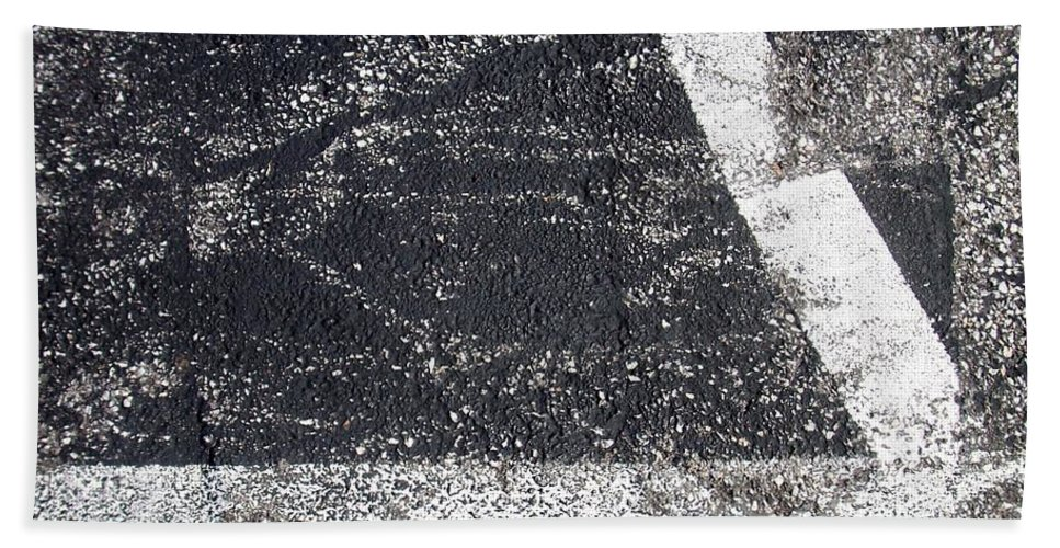 Parking Lot Bath Towel featuring the photograph Parking Lot 2 by Anita Burgermeister