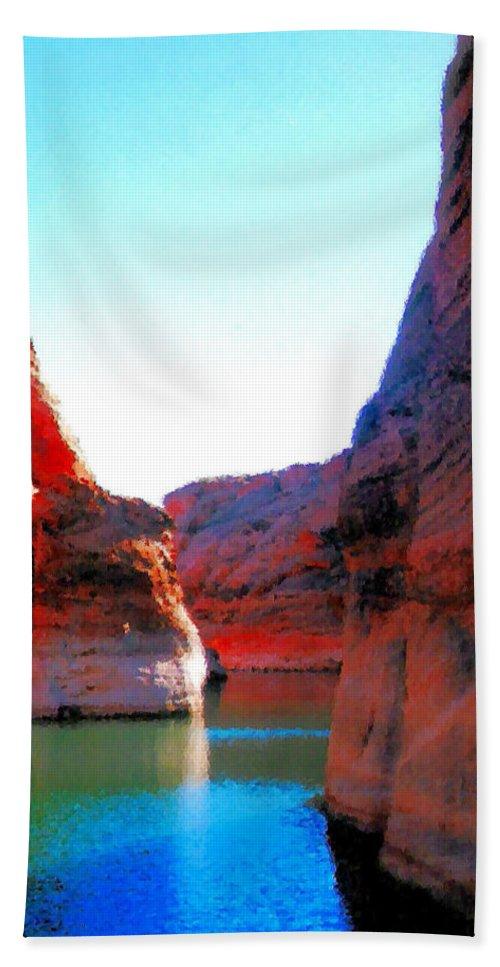 Passage Bath Sheet featuring the photograph Passage by Kristin Elmquist
