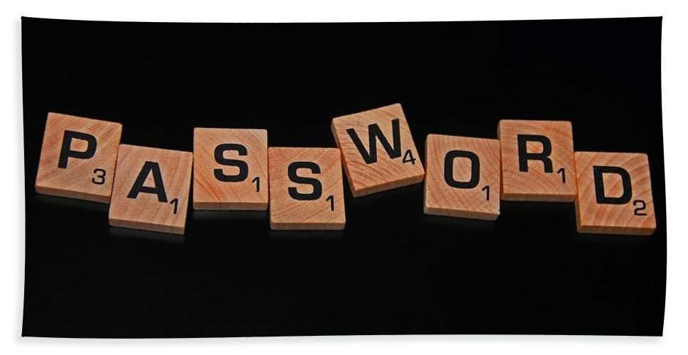 Password Bath Sheet featuring the photograph Passoword by Michiale Schneider