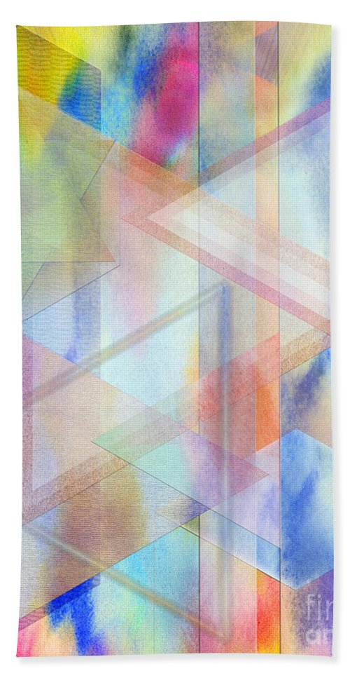 Pastoral Moment Bath Towel featuring the digital art Pastoral Moment by John Beck