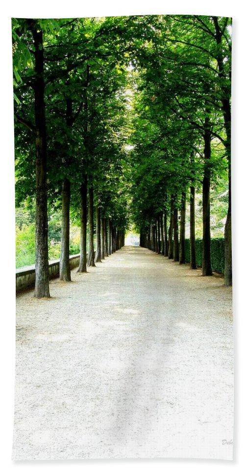 Path Bath Sheet featuring the photograph Pathway by Deborah Crew-Johnson