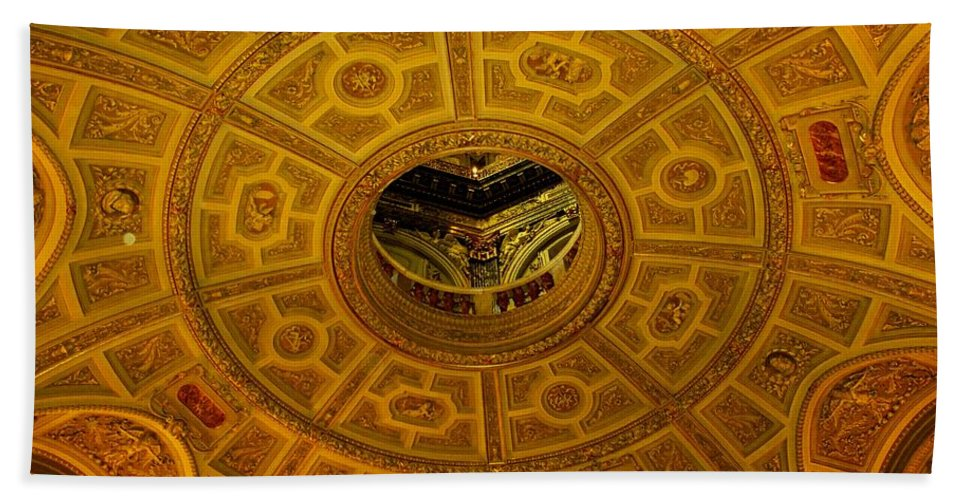 Ceiling Hand Towel featuring the photograph Pattern by Ian MacDonald